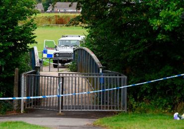 Man, woman and teen, 13, arrested for murder after boy found dead in river