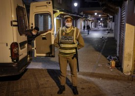 Morocco covid cases surge - as night curfew is extended by 2 hours