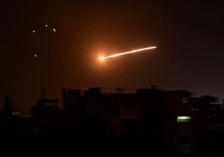 Israel conducts air strikes on targets in Syria through Lebanon's airspace