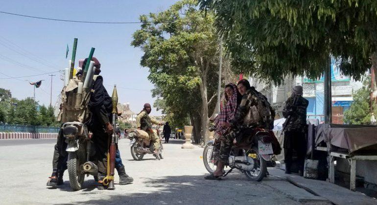 Taliban captures southern Afghanistan's Lashkar Gah city
