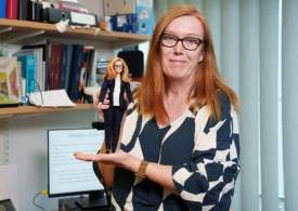 Vaccinologist Barbie: Prof Sarah Gilbert honoured with a doll