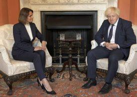 Boris Johnson backs Belarusian opposition leader as international scrutiny of Lukashenko's regime builds