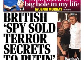 Daily Mail - 'British spy sold terror secrets'