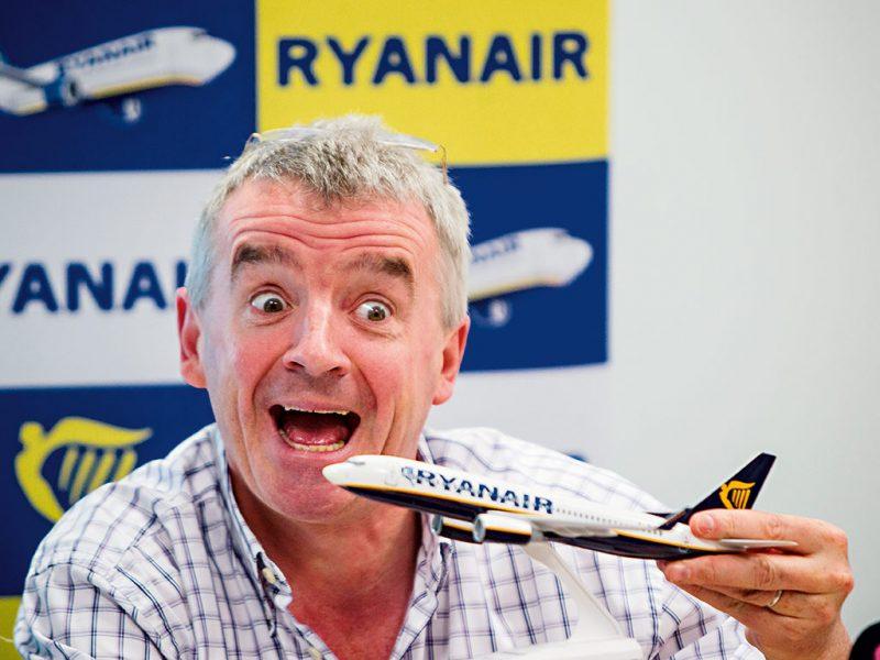 Ryanair boss set for massive £85m bonus as the airline looks to recover