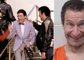 Grease star Eddie Deezen arrested after 'throwing plates at police' in restaurant