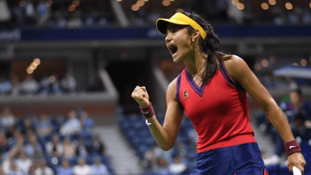 Emma Raducanu reaches US Open final with electric win over Maria Sakkari in New York