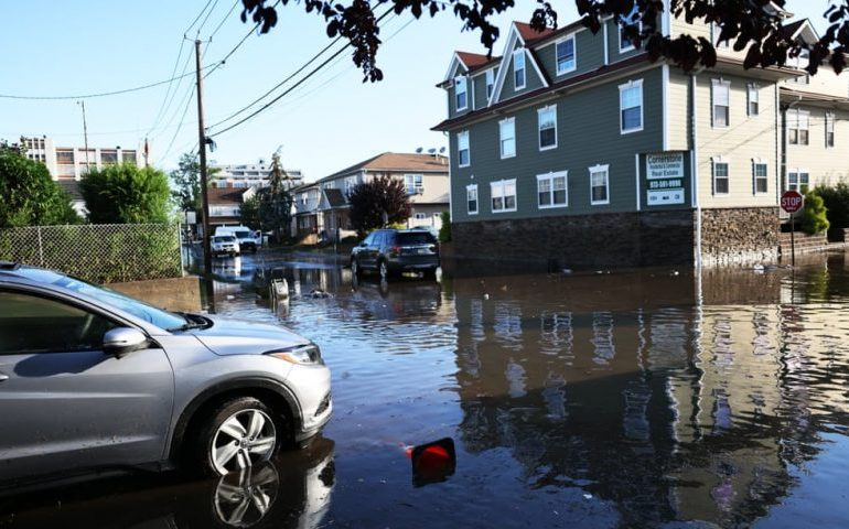 More than 40 killed in US north-east amid sudden heavy rains and flooding