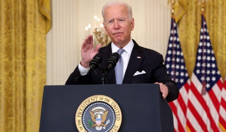 Biden accuses Afghan military and Trump for the messy Afghanistan exit