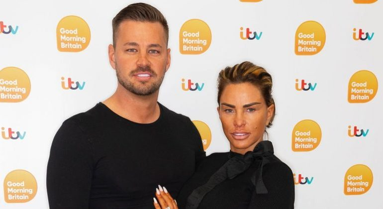 'I never would do anything to hurt her': Katie Price's fiancé Carl Woods denies hitting her