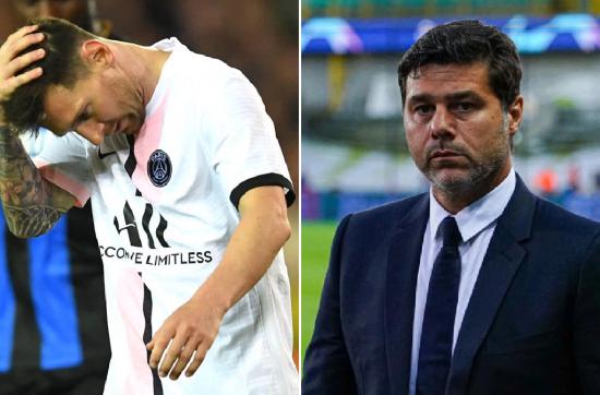 Antonio Conte defends Mauricio Pochettino after PSG and Lionel Messi struggle against Club Brugge