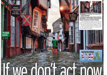 The Daily Mirror - 'Climate Crisis: Act now'
