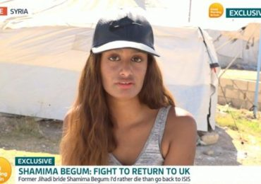 Shamima Begum begs for forgiveness and says she'd rather die than return to ISIS