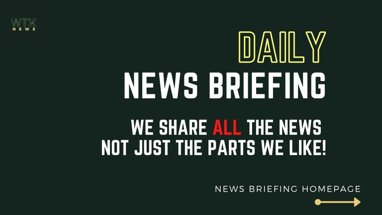 Exclusive News briefing service - UK News Briefing homepage