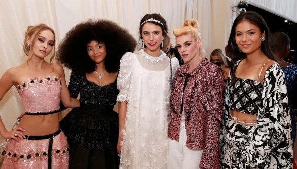 Emma Raducanu, 18, swaps A-Levels for A-Listers at the Met Gala, where she rubs shoulders with JLo and Megan Fox.
