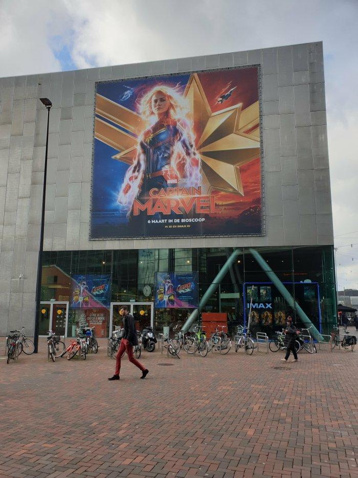 Captain Marvel Movie Theater