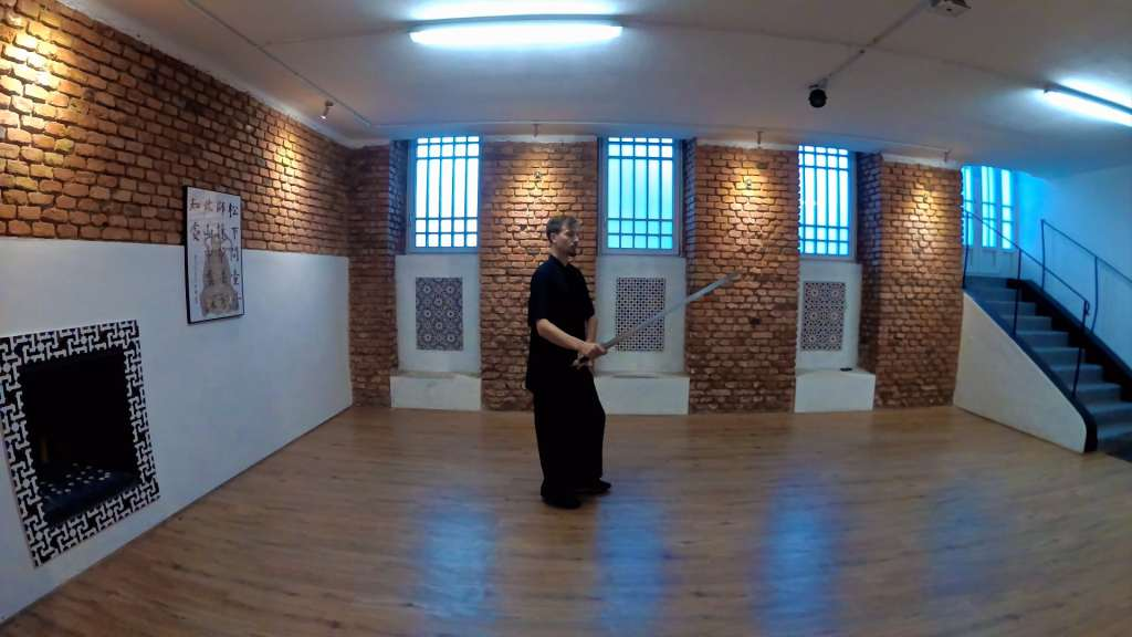Taiji Jian (Sword) Basic Step Practice