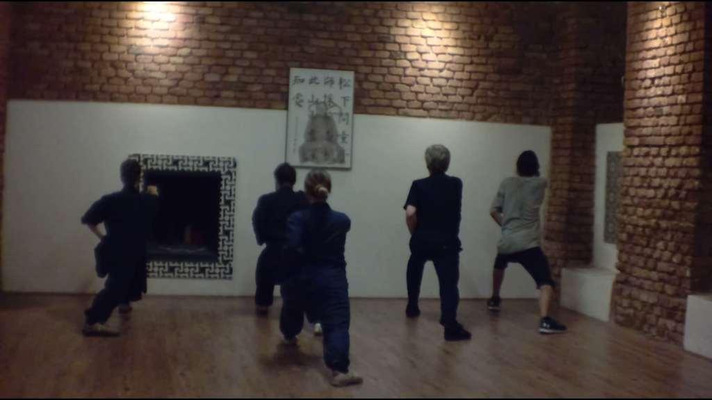 Wudang Basic Posture Training Class