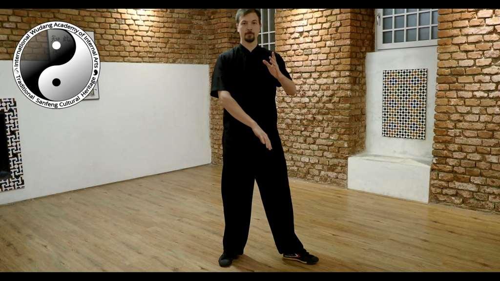Taiji Cloud Hands - Feet Movements 2