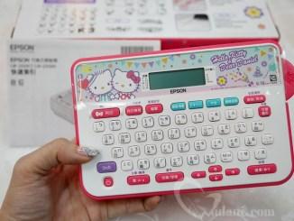 【生活】Epson Hello Kitty & Dear Daniel LW-220DK標籤機~內建圖型更多更可愛,標籤膠帶選擇更多元…簡單豐富每一天 @吳大妮