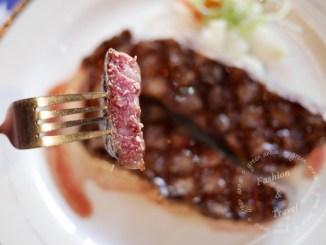 【台中美食】武之牛碳燒牛排館~平價肉質好的牛排館@台中南屯 @吳大妮
