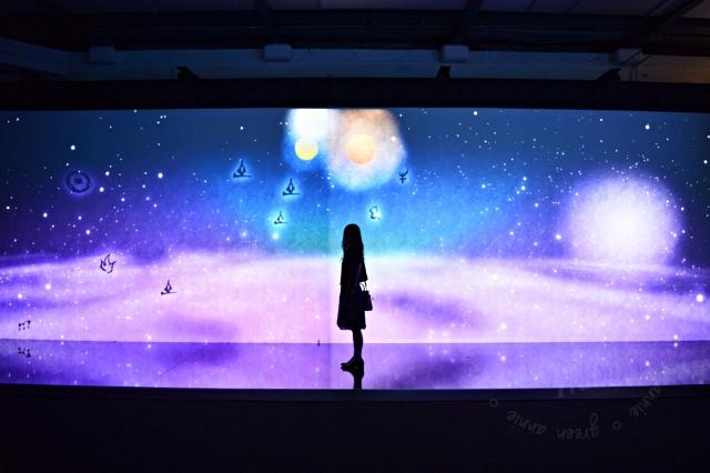 【展覽】teamLab: 舞動!藝術展 & 學習!未來の遊園地~拍照有意境但人很多