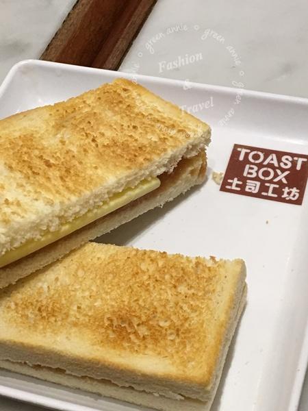 土司工坊Toast Box,大直家樂福大食代【台北美食】