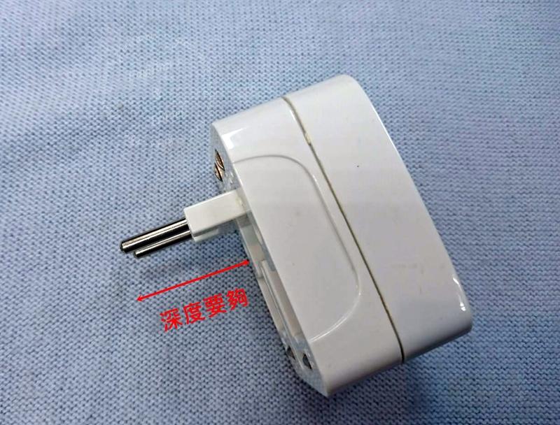 韓國220V,插頭圓形二孔