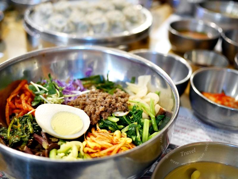 韓國大邱美食,介淨GAEJEUNG개정 동성로점韓式傳統料理,冷麵、拌飯都很推薦