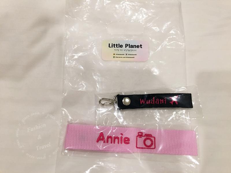 韓國釜山西面~Little Planet客製化行李吊飾可選字及圖案&西面換錢所