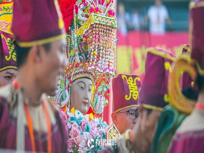 存摺攝影-湄州媽祖