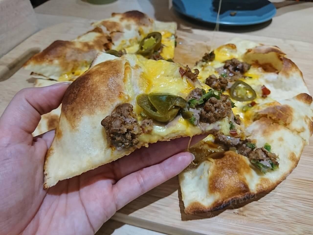 三重美食,熊掌PIZZA現點現做,熱騰騰最美味-臨近碧華國中