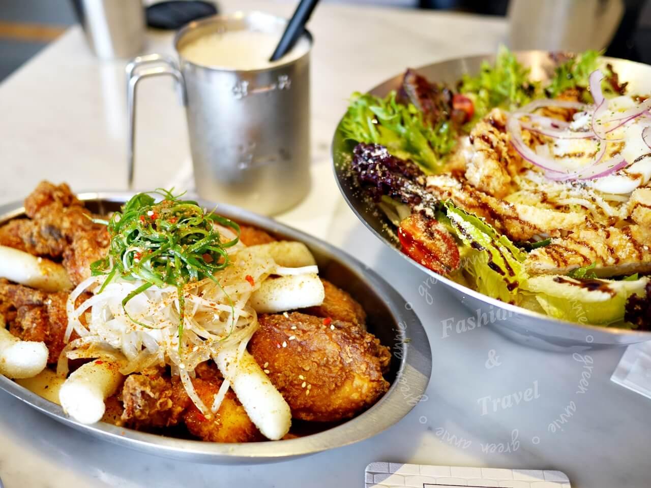 KATZ Fuison Restaurant 卡司複合式餐廳,韓式炸雞、美韓創料理,環境適合拍照-台中西區(精誠商圈)