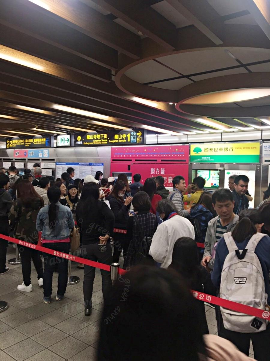 樂吉籤,台北捷運和龍山寺聯名「祈福票卡」,讓人平安順利一整年