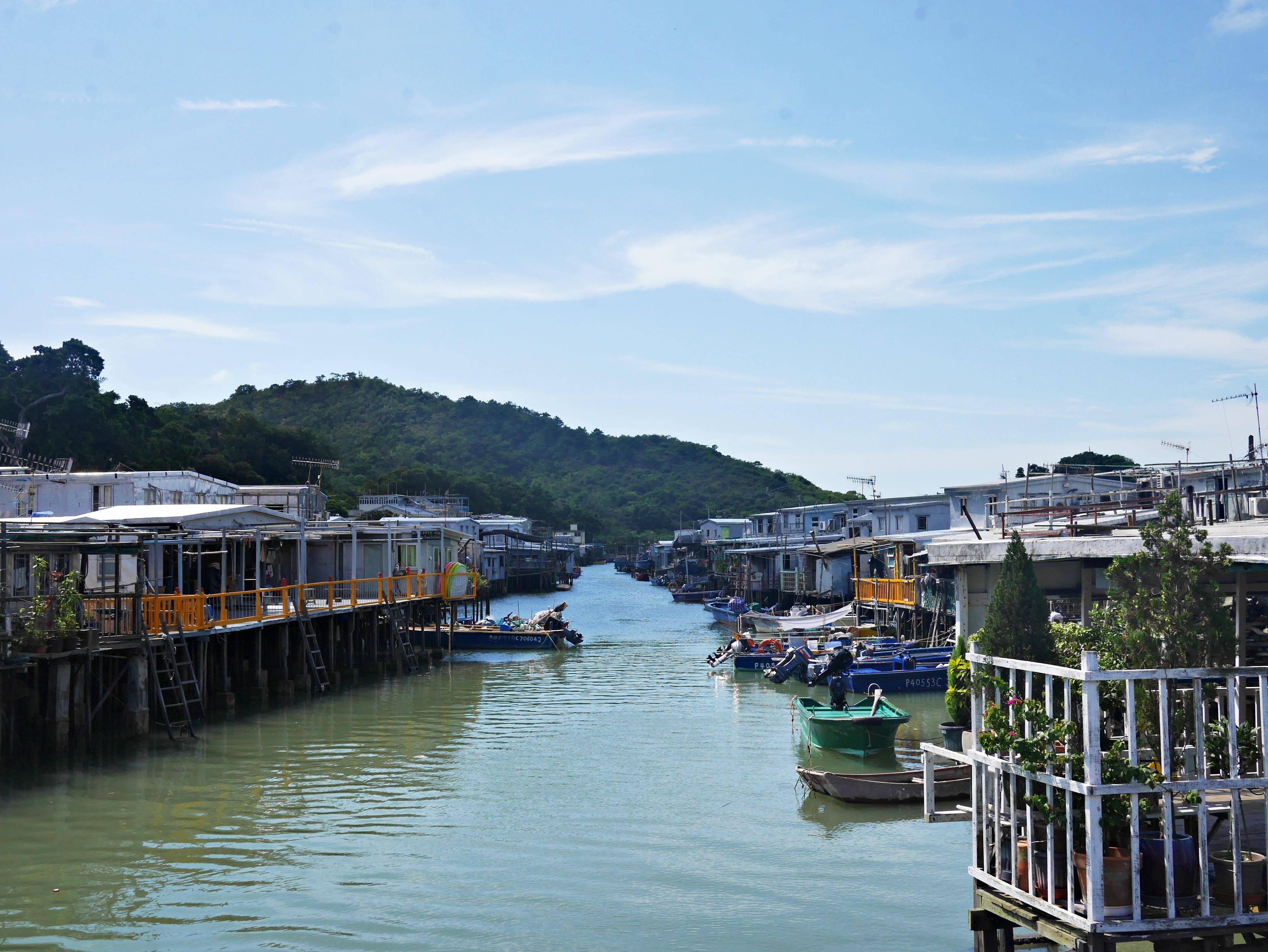 香港景點:大澳漁村懷舊之旅,特別的棚屋景觀,超適合拍照的美麗景點
