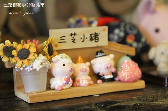 【北台灣】三芝賞櫻趣+三芝小豬 @吳大妮。Annie