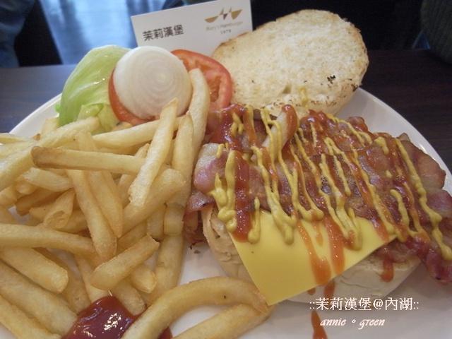 【午餐約會】茉莉漢堡@內湖 @吳大妮。Annie