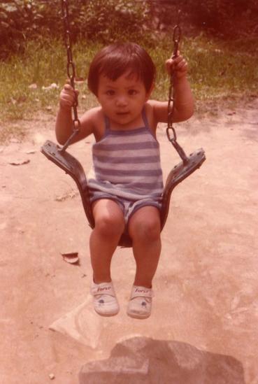 我的小時候 @吳大妮。Annie