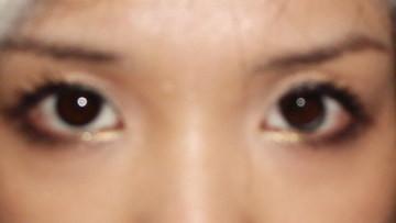 1/11…垂眼妝。。。。加一陣亂拍 @吳大妮。Annie