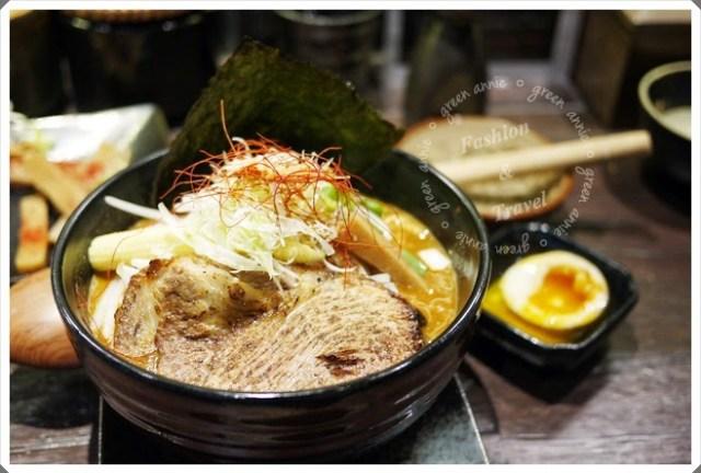 【美食】鷹流辛味噌拉麵-惡鬼warugaki~讓人驚艷(歇業) @吳大妮。Annie