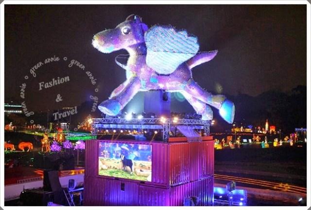 【2014台北燈節】飛躍阿駿+圓仔大金剛機器人迎元宵@花博圓山和美術公園 @吳大妮。Annie