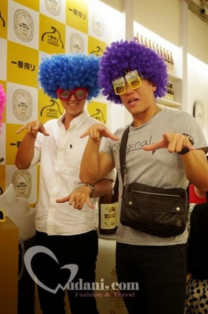 【期間限定】KIRIN ICHIBAN GARDEN Two tone生啤酒酒限量5000杯& 7月新菜色@台中 @吳大妮。Annie