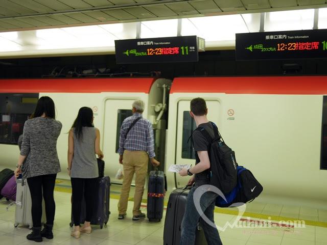 【日本東京】搭乘成田特快N'EX~快速進入東京市區,現正特價4000日圓 @吳大妮。Annie