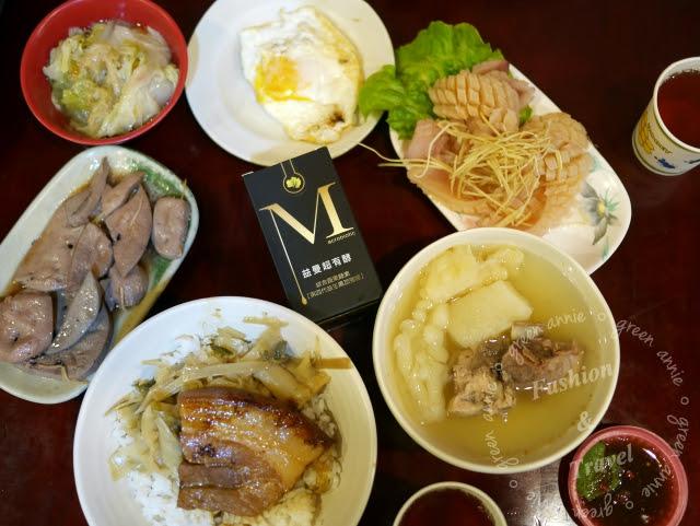 【台中美食】財神爺魯肉飯~小菜種類超多,24小時營業不打烊 @吳大妮。Annie
