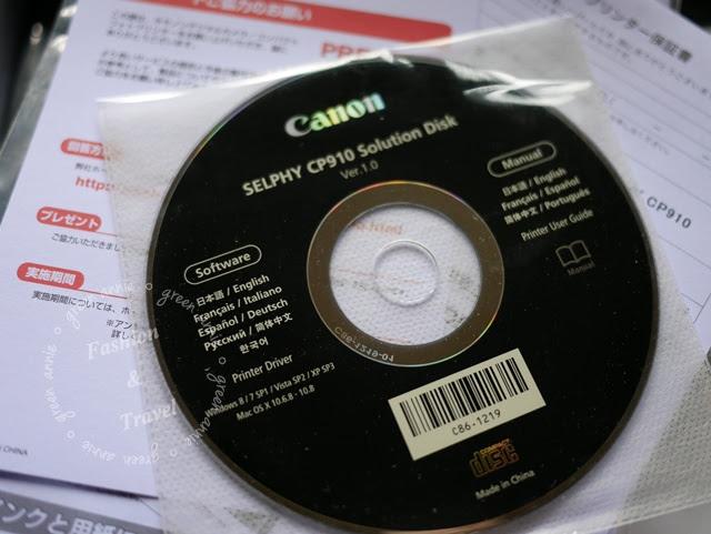 【開箱】Canon SELPHY CP910 相片印表機 @吳大妮。Annie