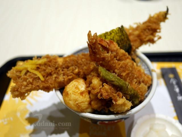 【林口三井】日本第一天丼~金子半之助!可以選平日非用餐時間來嚐嚐唷 @吳大妮。Annie