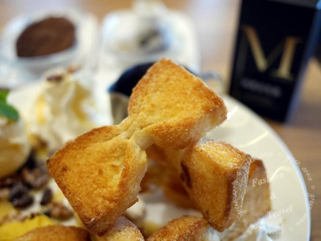 樂昂LOVEONE Cafe~必點超可愛領結土司~外酥內軟好滋味 @吳大妮。Annie