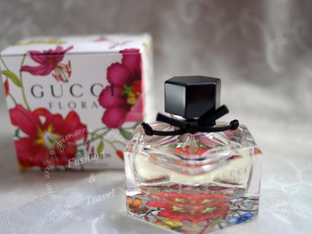 GUCCI 花園系列香水 50周年限量版~ Flora Anniversary Edition~耐聞的花香調讓人優雅的香味 @吳大妮。Annie