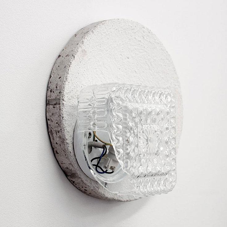 drillcore-glaslampe