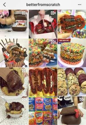 Better From Scratch Instagram feed