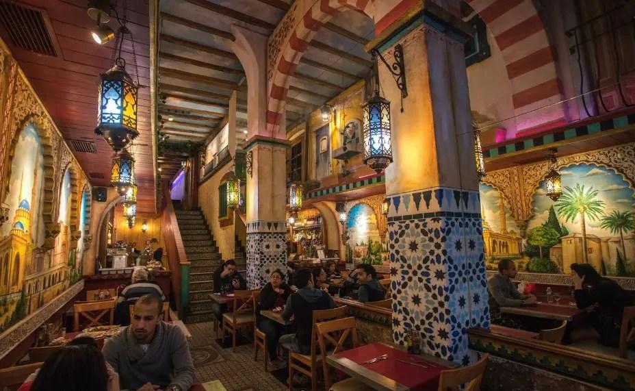 مطاعم عربية في برشلونة